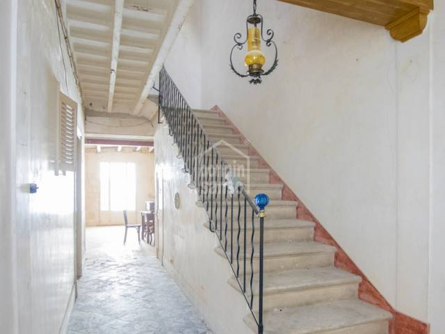 Beautiful townhouse near to city center in Mahón in Menorca