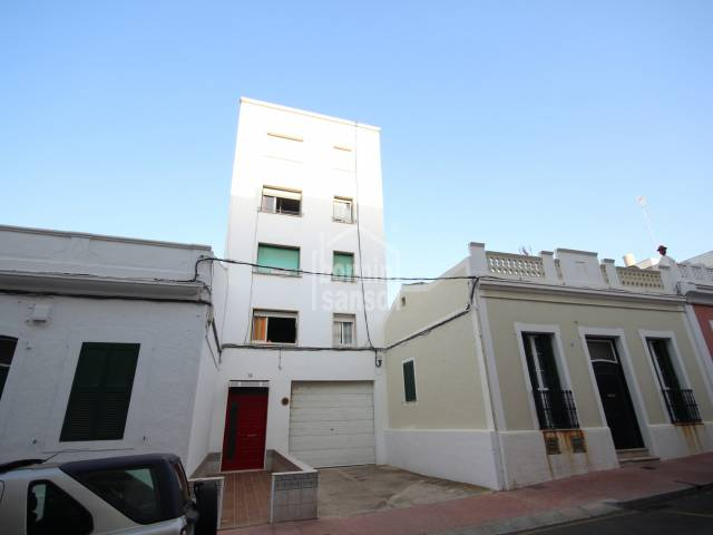 Large flat of 112m² in Mahon, Menorca