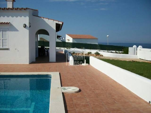 Front line villa in Cap Dartruix,Menorca