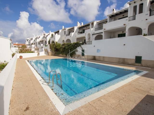 Apartamento ideal para las vacaciones a solo unos minutos de las playa de Son Parc, Menorca.