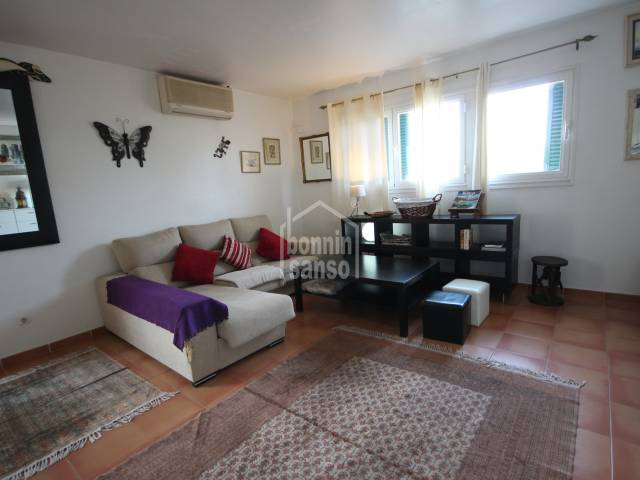 Cosy first floor apartment in Ciutadella, Menorca