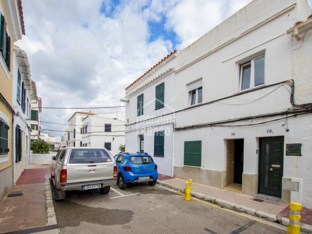 First fllor town house in Mahon, Menorca