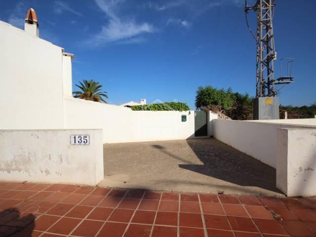 Unique property close to the center of San Luis, Menorca