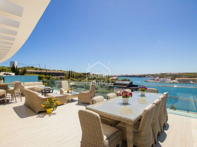 Prime location, Mahon harbour, Menorca