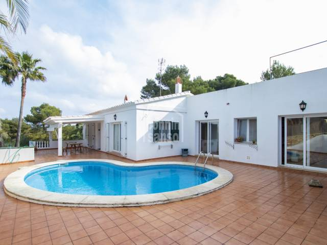 Well kept house in Addaya, close to the marina, Menorca