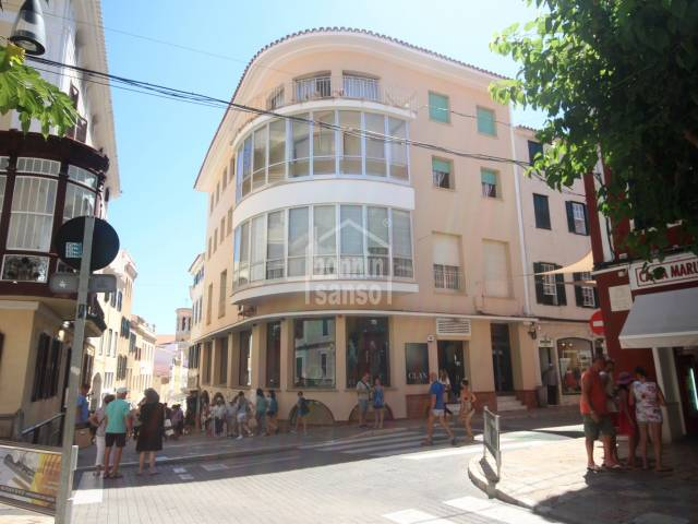 Investment opportunity, block of apartments and business premises in centre of Mahon, Menorca