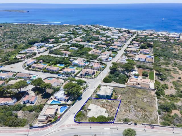 Solar edificable en la costa sur de Menorca
