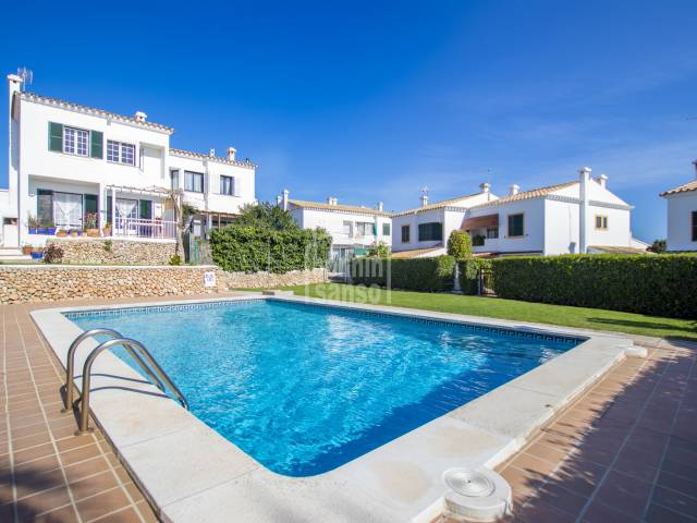 Lovely semi detached house in Santa Ana, Es Castell, Menorca