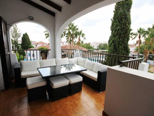 Angenehme Wohnung im ersten Stock, Calan Porter, Menorca