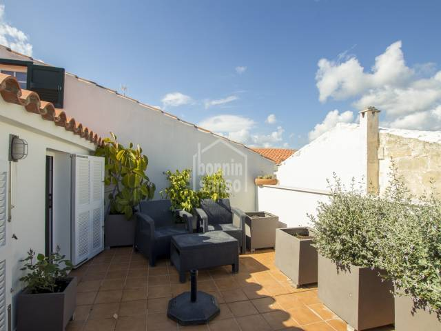 Town House on a first floor , completely reformed in the centre of Mahon Menorca