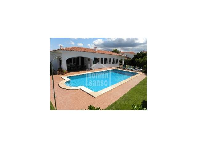 Lovely villa close to Arenal beach, Menorca