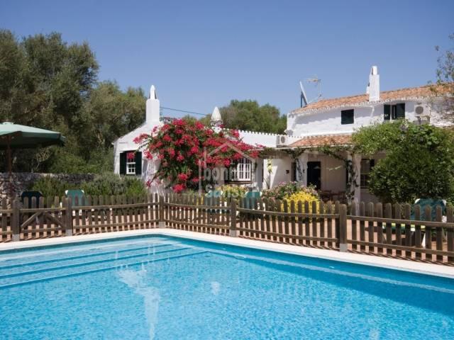 Beautiful Authentic Menorcan farmhouse in San Clemente