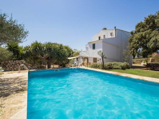 Country house with tourist exploitation in Ciutadella, Menorca.