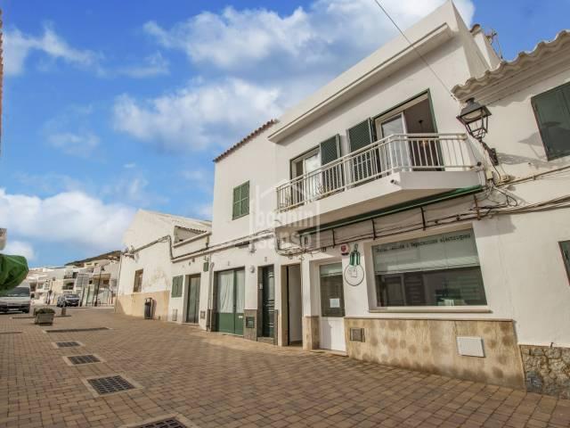 Piso en primera planta, centro de Fornells, Menorca