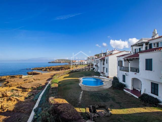Fantastic front line apartment in Playas de Fornells, Menorca
