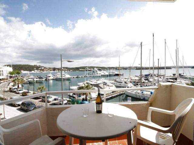 Front line Apartment in the Port of Mahon, Menorca