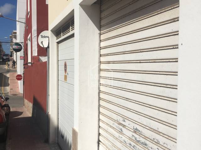 Garaje en Es Castell
