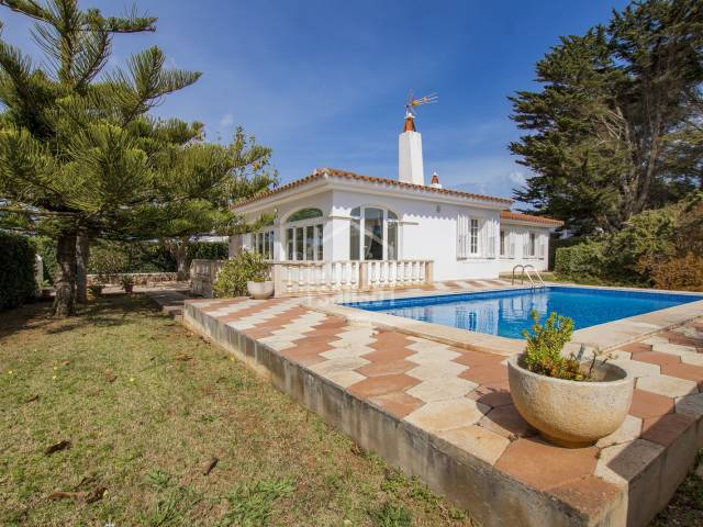 Great location just five minutes walk from Binibeca beach Menorca