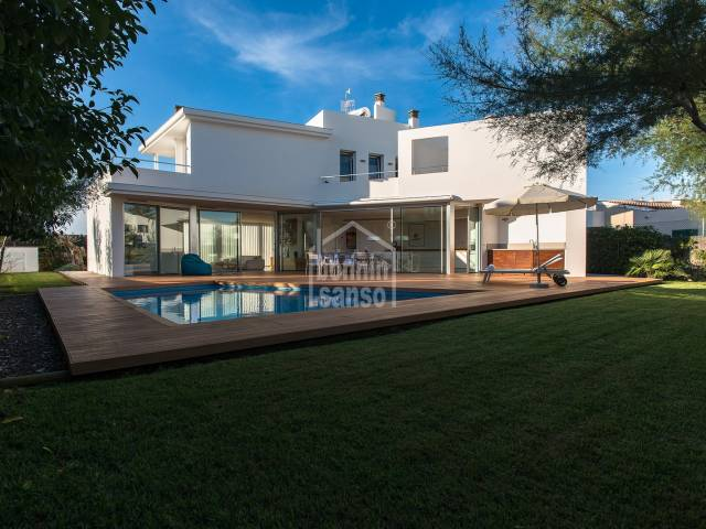 Magnificent and modern villa in Cala Blanca, Ciutadella, Menorca