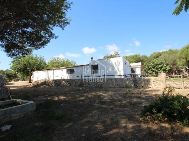 Two rural houses surrounded by agricultural land in the peacefull location of Binisaida. Es Castell Menorca