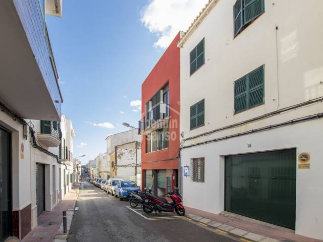 Modern duplex on the second floor in Es Castell, Menorca
