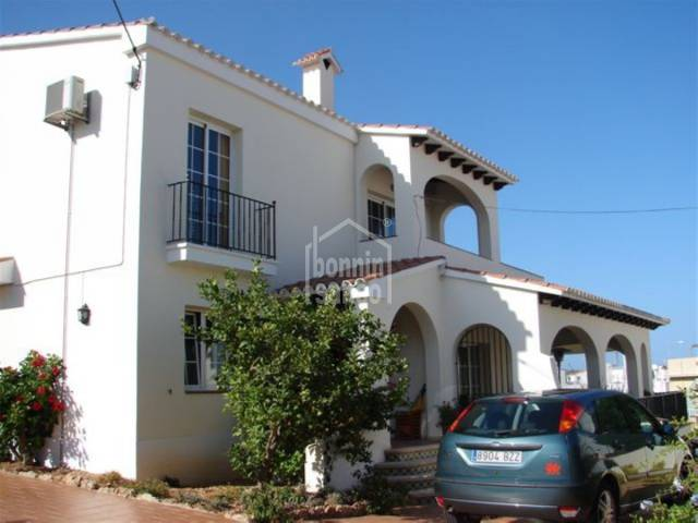 Large family villa near the Port of Mahon