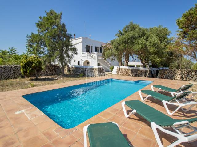 Magnificent country house with 144.000m² of land, Ciutadella
