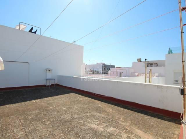 Right to build on second floor, close to the centre of Ciutadella, Menorca