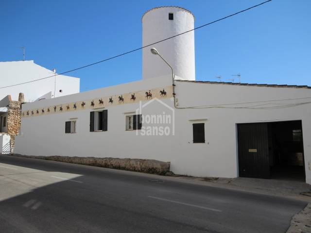 Antiguo molino casa reformado en Ciutadella, Menorca.