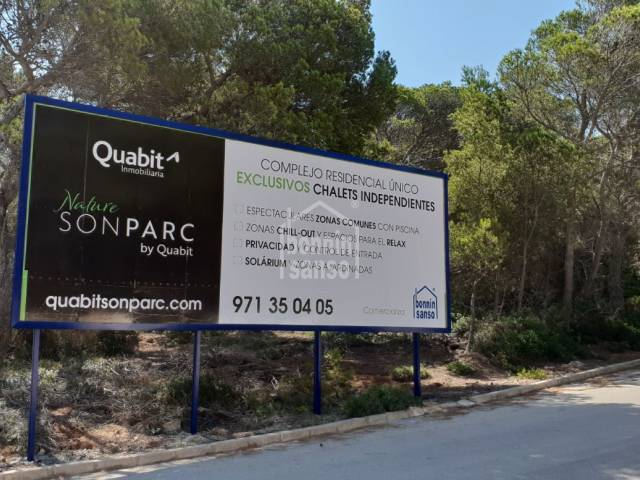 Coming soon ….. luxury development in Son Parc, Menorca.
