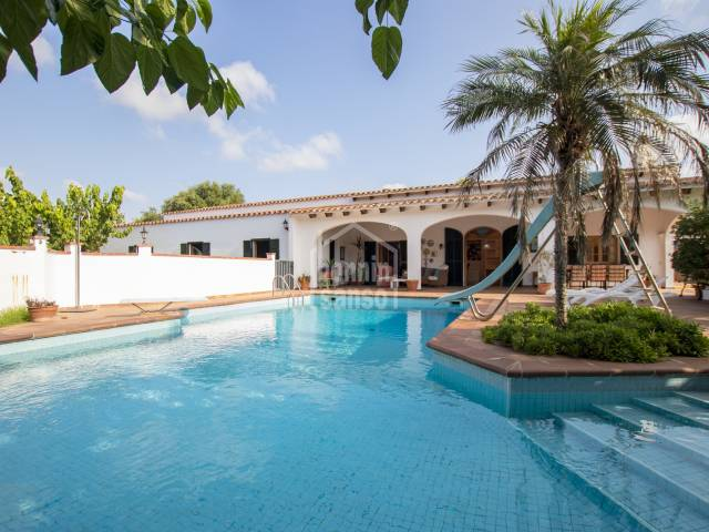 Large property with pool in the middle Argentina, Alayor, Menorca.