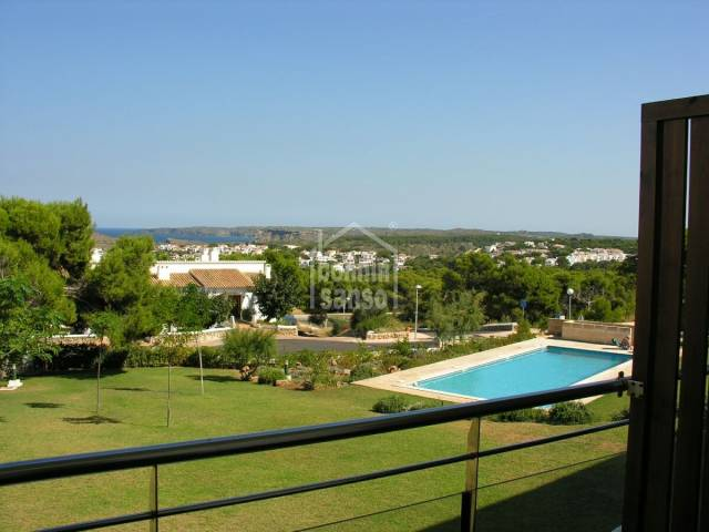 Lovely house in a beautiful complex with communal gardens and pool, Coves Noves, Menorca