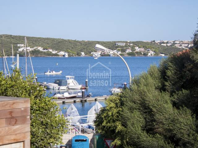 Attractive, first floor apartment in harbour Mahon, Menorca.