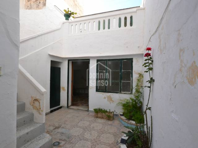 House on ground floor in the centre of Ciutadella