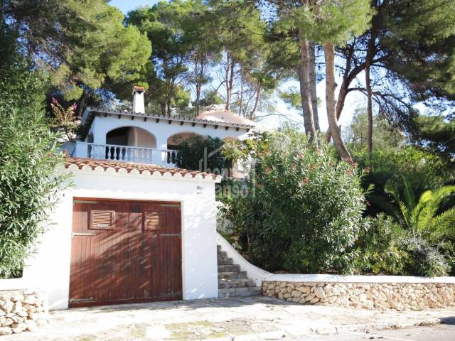 Southfacing villa with panoramic views over the Son Bou beach. San Jaime.Menorca.