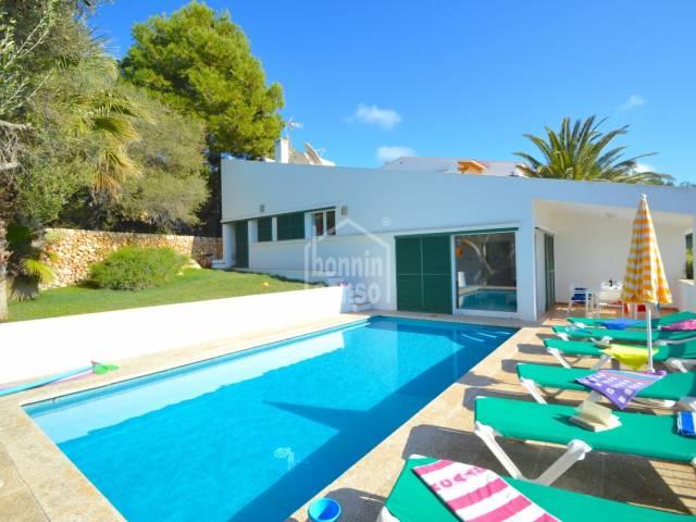 Villa with sea views in Santo Tomás. Menorca