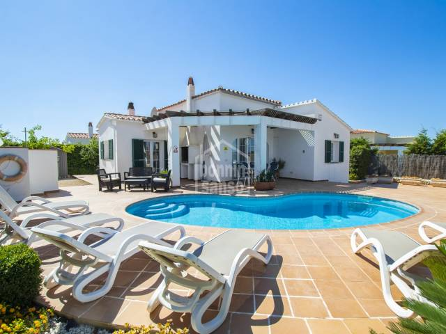 Lovely villa with tourist licence in Calan Porter, Menorca