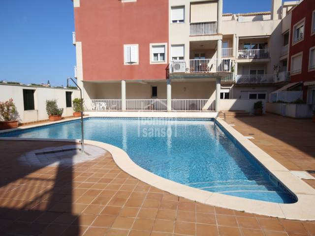 Modern ground floor that needs total refurbishment, situated in Es Castell, Menorca