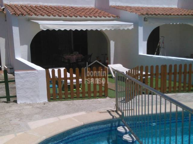 Small villa with pool, very close to Calan Blanes beach, Ciutadella, Menorca
