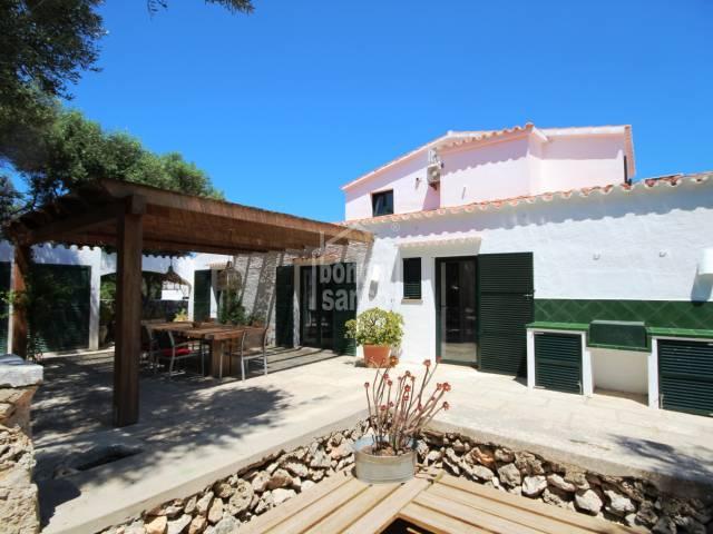 Casa de campo reformada en Trebaluger en Menorca