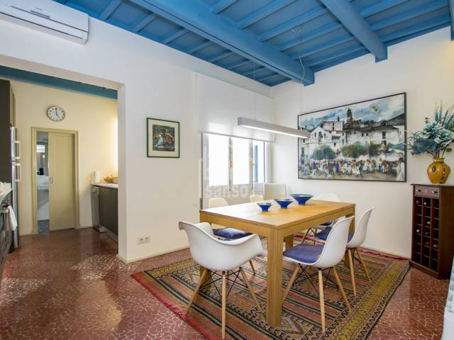 Elegant Menorquin town house in the centre of  Mahon , Menorca