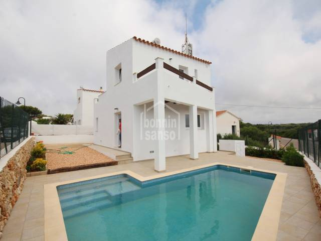 New build, Binibeca, Menorca