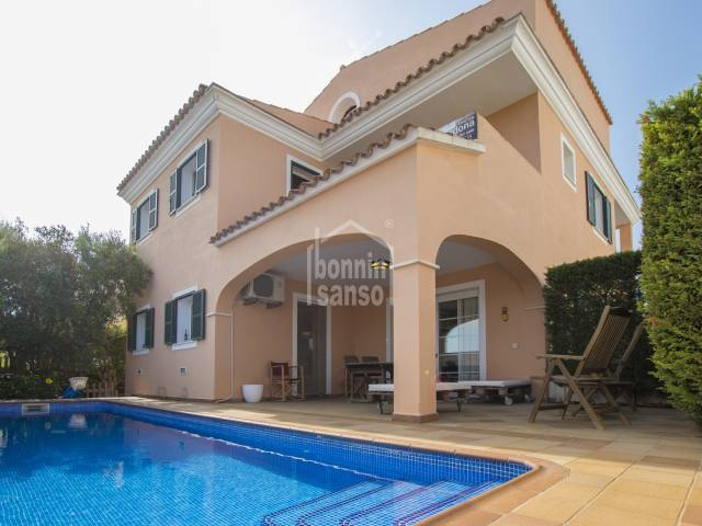 Modern and spacious family home close to Alayor. Menorca