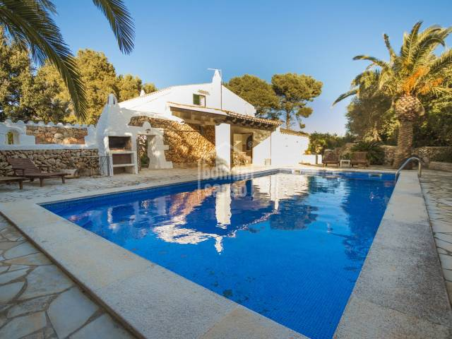 Propiedad rural muy bien cuidada, Llumesanes, Menorca