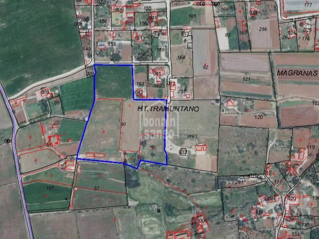 Parcelas de unos 32.800m² al lado de nucleo rural S'Hort d'En Vigo, Ciutadella, Menorca