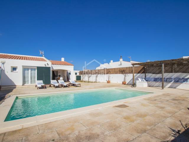 Attractive and comfortable villa in Cala Llonga, Menorca