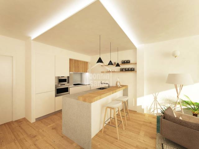 PROMOTION of 7 apartments brand new in Ciutadella, Menorca