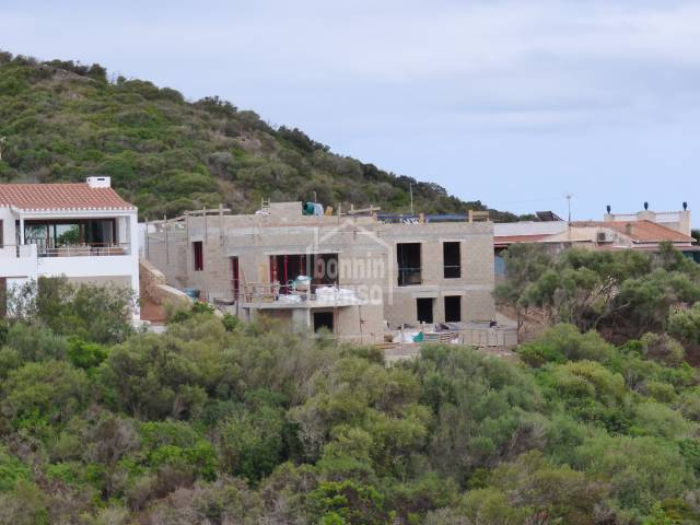 Front line villa  of land in San Antonio. Port of Mahon. Menorca