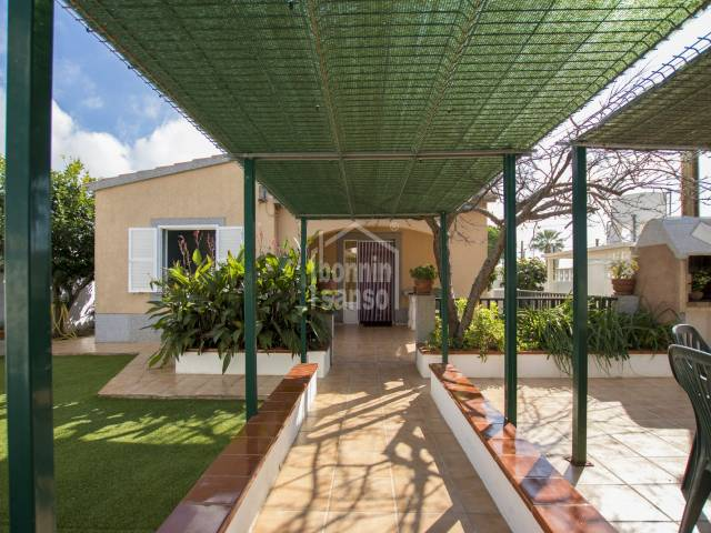 Well kept house in Calan Porter, Menorca