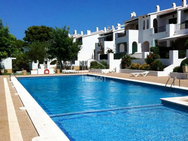 Two bedroom apartment in Son Parc, Menorca.